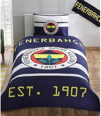 Taç Lisanslı Fenerbahçe Sarı Kanarya Tek Kişilik Nevresim Takımı