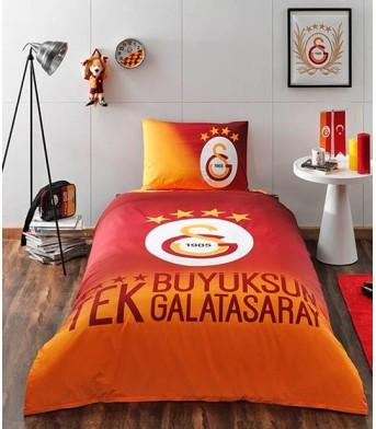 Taç Lisanslı Galatasaray 4. Yıldız Tek Kişilik Nevresim Takımı